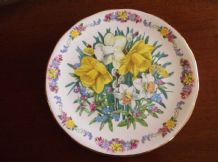 ROYAL GRAFTON DISPLAY PLATE LTD EDITION COMFORT & JOY SARA ANNE SCHOFIELD